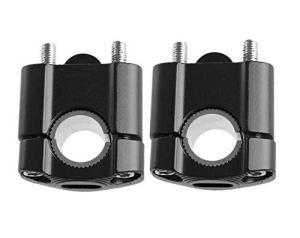 Maso Moto Guidon Riser 7/20,3 cm 22 mm et 11/20,3 cm 28 mm en alliage d'aluminium durable Barres Collier de serrage