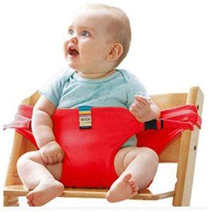 MongKok Ceinture de sécurité pour bébé Rouge