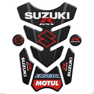 Protection de reservoir Moto MODELS en Gel compatible  »SUZUKI GSX-R 3.WINGS TOP » réservoir Pad