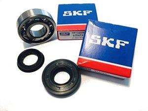 SKF C4 vilebrequin Kit de palier roulements avec joint d'arbre bagues d'étanchéité Hi d'onde Quality Cage Métal