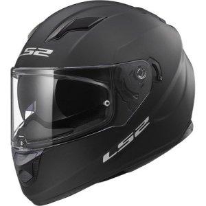 Casque moto LS2 STREAM EVO MAT Noir, Noir, S
