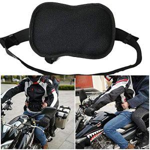 Ceinture de sécurité Moto pour Harnais Réglable Bandes Noir Ceinture Maintien Passager Moto Accessoire Sonic-Moto Textile Securité Noir