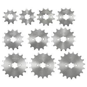 GOZAR 420 10/11/12/13/14/15/16/17/18/19 Dents Contre Pignon pour 70Cc 110Cc 125Cc Moto – 19