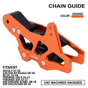 Guide de Protection de chaîne en Aluminium CNC pour SX85 Freeride 350 K.T.M 125-530 125 250 300 450 530 Tous Les modèles EXC SX SXF SMC Enduro- Husqvarna TC85 FC FE Te FS Dirt Bike