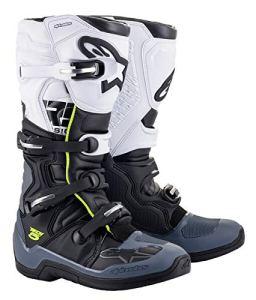 Alpinestars Tech 5 Bottes de motocross Noir/Gris/Blanc 12 (47)
