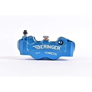 BERINGER Etrier de Frein Radial Gauche Aerotec® 4 Pistons Ø32mm entraxe 100mm Bleu
