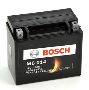 Bosch M6014 Batterie moto YTX12-BS – 12V AGM 10A/h-150A
