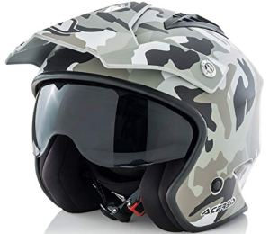 Casque Jet Air Camo/Brown L