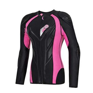Femmes Body Armor Protection de Moto Motocross Back Equipement Vêtements Moto Cross Gear Protector Armor Pink S