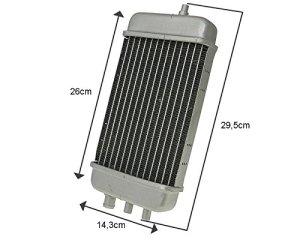 Réfrigérateur / Radiateur Aprilia RX/SX, Derbi Senda/RCR/SMT.