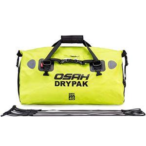 Sac de Voyage étanche Duffel Bag pour Kayak/Bateau/Canoeing/Pêche/Camping/Piscine/Rafting/Snowboard, Vert 40L