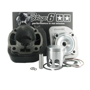 Stage6 Cylinder Kit StreetRace 70cc cast iron piston pin=10mm scooters CPI AC