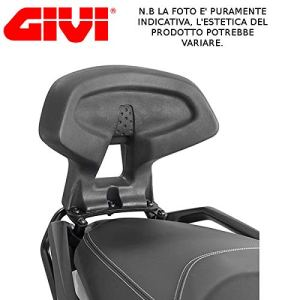 TB3106schienalino Givi Dossier Passager pour Suzuki Burgman 1252019Dos Noir
