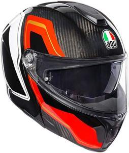 AGV Sportmodular PLK Sharp Carbon Casque à visière