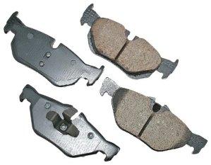 Akebono EUR1267 EURO Ultra-Premium Ceramic Brake Pad Set by Akebono