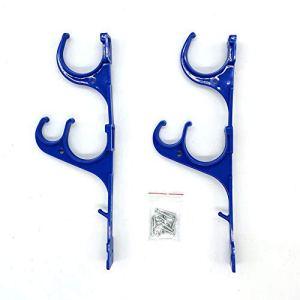 Crochet De Tuyau, Support De Tige en Plastique pour Piscine, avec Support De Rangement À Vis pour Accessoires De Nettoyage