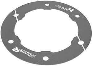 JiANXING Accessoires de moto durables en aluminium pour ceinture de transmission de la poulie de protection pour BMW F800R F800GS Aventura (couleur : gris F800R)