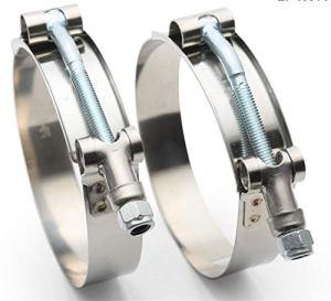 NO LOGO Accessoires FSM Voitures, 1pc 3″ Pouces (79mm-87mm) Silicone Hose Turbo COUPLEUR T Boulon Super CLAMP KIT