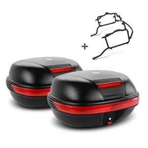 Paire de valises latérales Set Triumph Tiger 1050 07-12 Givi Monokey E460N noir