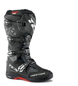 9661 – TCX Comp Evo Michelin Motocross Boots 42 Black (UK 8)