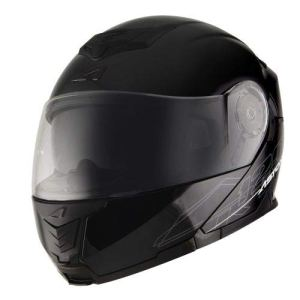 Astone Helmets Casque Modulable RT1200, Noir Brillant, XL