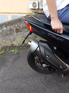 Embout de silencieux modèle ECO pour Yamaha TMAX530