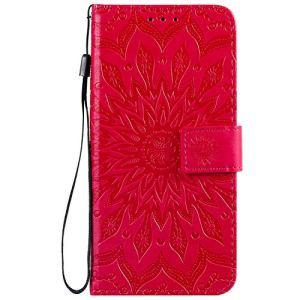 Jeewi Coque pour Oppo Realme 3Pro Protection Housse en Cuir PU Pochette,[Emplacements Cartes][Fonction Support][Fermeture magnétique] pour Oppo Realme 3 Pro – JEKT032372 Rouge