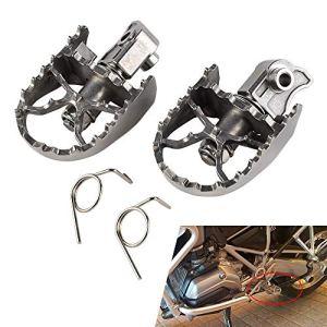 Moto Fat Repose-Pieds pédales, Avant Repose-Pieds Repose-Pied Peg, for BMW F650GS G650GS 2000-2012 F700GS F800GS 2008-2012 R1150GS ADV 00-05 R1200GS ADV 13-14