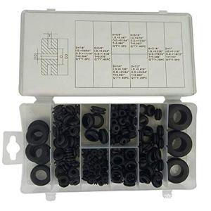 QQAAZZ 180 pièces Joint torique Kit Joint en Caoutchouc scellé Combinaison de Joint en Silicone Joint de Joint Ensemble d'assortiment