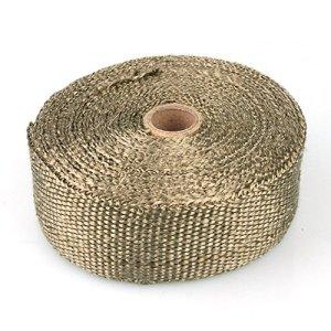 Rouleau de protection thérmique en fibre de verre – tissu collecteur d'échapement jusqu'à 1000°, 10m