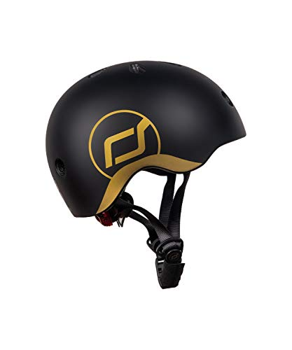 SCOOT AND RIDE Casque XS Or