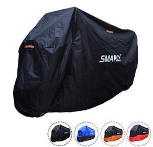 SMARCY® Housse de Protection pour Moto XL Noir