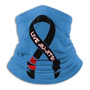 XCVD Jujitsu 's Life unisexe en microfibre cache-cou crème solaire coupe-vent bandeau écharpe pour l'extérieur