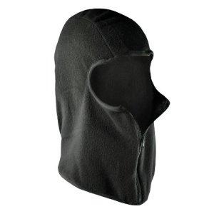 ZANheadgear Micro Fleece Balaclava with Zipper (Black) by Zanheadgear