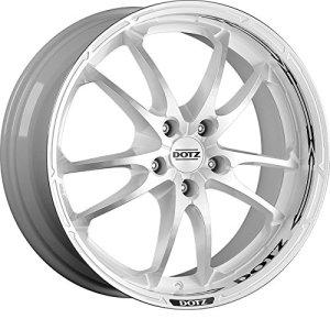 4* * * * * * * * marque New 20,3x 45,7cm Dotz Tupac Tige Roues en alliage poli Blanc pour BMW