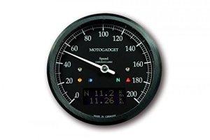 Instruments Moto Gadget chronoclassic Speedo Noir, ABE