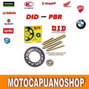 Kit transmission DID chaîne Couronne Pig Triumph Speed Triple 1050aBS 20069
