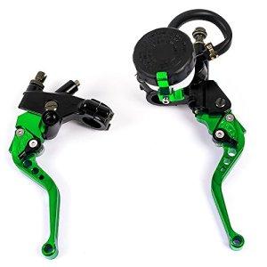 Leviers de frein, d'embrayage de haute qualité, 3cm pour motocyclette, universel, kit maître cylindre kit, réservoir, liquide