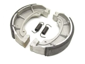 Mâchoires de frein plaquettes de frein arrière pour Suzuki AP CP Katana Street Magic 50pour Morini (120x 25mm)