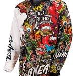 O'NEILL Mixte Mayhem Crank T-Shirt, Black/Multi, L