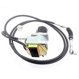 Sinocmp 1050092105–0092rond Moteur d'accélérateur avec câble unique pour Caterpillar E320l E320Excavatrice pièces, 6mois de garantie