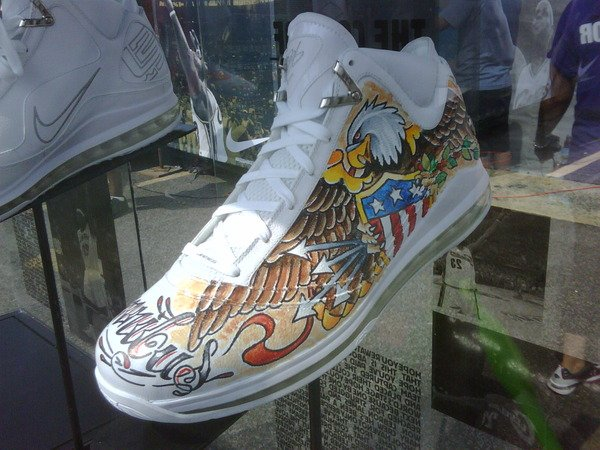 Nike Air Max LeBron VII Washington, DC Artist Edition Peak