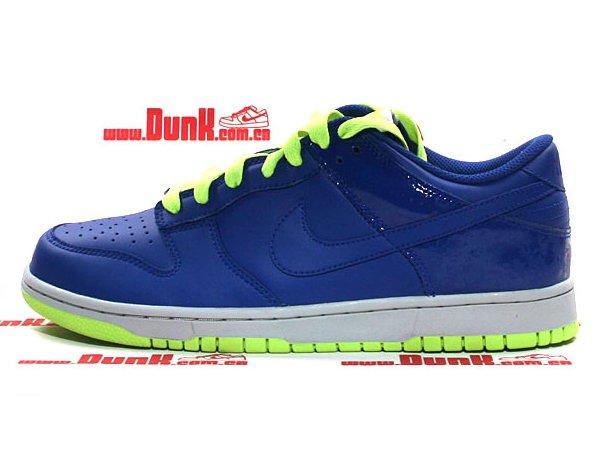 Nike Dunk Low CL - Hyper Blue - Volt
