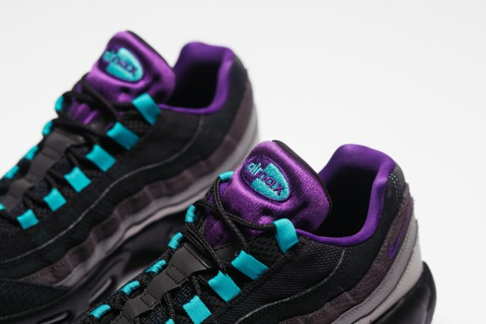 Teal And Grey Shoe