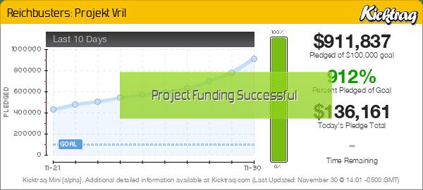 Reichbusters: Projekt Vril -- Kicktraq Mini