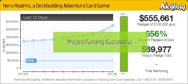 Hero Realms, a Deckbuilding Adventure Card Game -- Kicktraq Mini