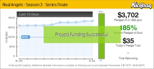 Rival Angels - Season 3 - Series Finale -- Kicktraq Mini