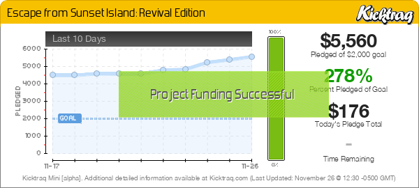 Escape from Sunset Island: Revival Edition -- Kicktraq Mini
