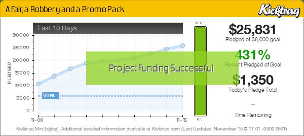 A Fair, a Robbery and a Promo Pack -- Kicktraq Mini