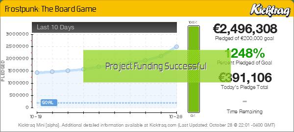 Frostpunk: The Board Game -- Kicktraq Mini